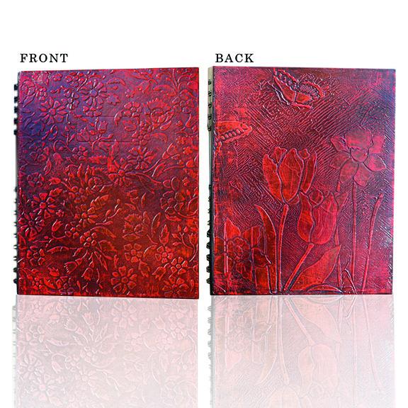 #floral #handpainted #notebook