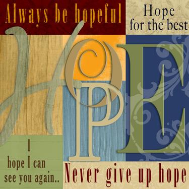 12x12 Funky Hope