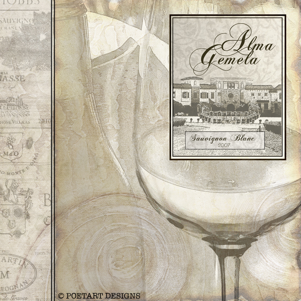 summer, sauvignon, white wine,