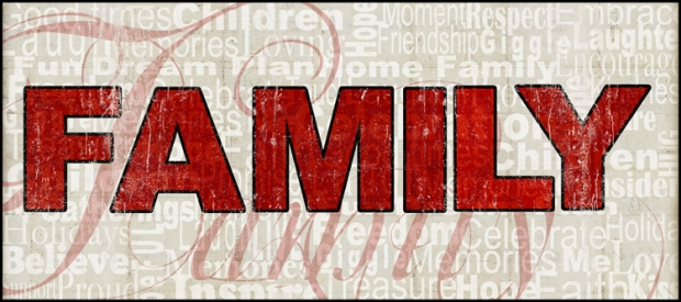 Family 8x20 sentiments