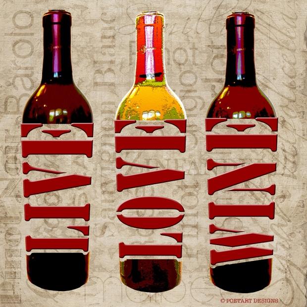 live love wine, live, love, laugh