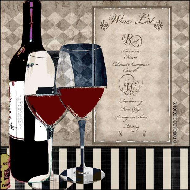 wine, winelist, bottle, glass, pinot,
