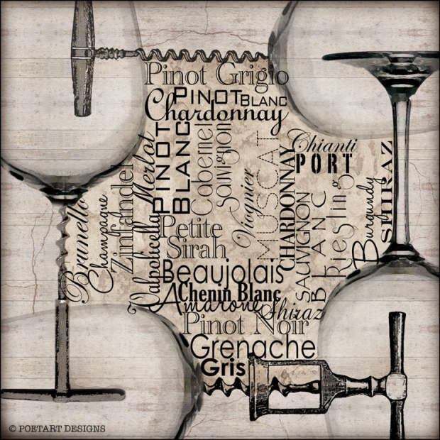 wine glass, wine, white, selection