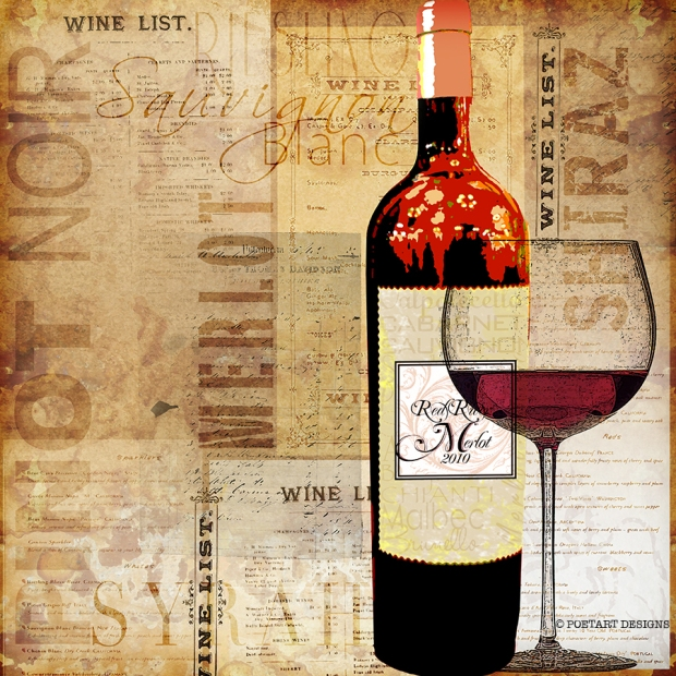 wine, list, menu,